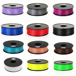 10M/LOT Premium 3D Printer Filament 1.75mm/ 3mm ABS/ PLA 3D