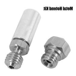 1PCS MK10 All Metal Hotend Upgrade Kit 1.75mm 0.4mm Nozzle f