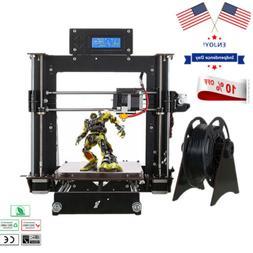 2020 3D Printer Prusa i3 Reprap + MK8 Extruder, MK3 Heatbed,