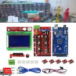 2019 3D Printer RAMPS1.4 MEGA2560 5X A4988 LCD 12864 Control