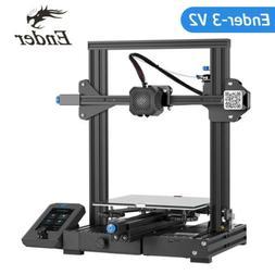 2020 Creality Upgrade Ender-3 V2 FDM 3D Printer Silent Mothe