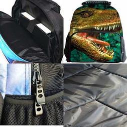 "3D Animal Print Backpack 15"" Laptop Bag School Bookbag Vivid"