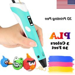 NEW 3D Doodler Drawing Printer Pen Printing Pen Present Toys