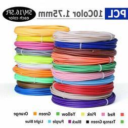 3D Pen Filament Refills,10 Colors 165Feet for 3D Printer Fil