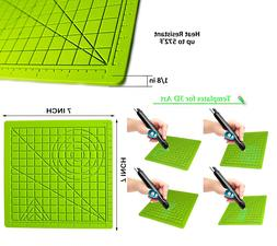 3D Pen Mat Design Mat Printing Pad Silicone with Finger Caps