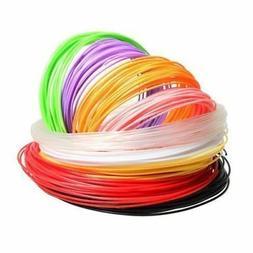 3D Pen Printer Refill ABS Filament 1.75mm 20 Color 5m J6A4