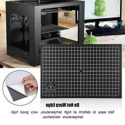 3D Printer Accessories Heat Hot Bed Sticker Black Platform B