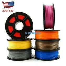 3D Printer Filament 1.75mm PLA 1kg 2.2lb Multiple Colors Mak
