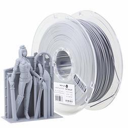 3D Printer Filament PLA , 1.75 mm Filament, 1Kg , Grey by Po