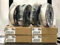 3D Printer Filament PLA 250g 1.75mm Roll, 3 DIFFERENT COLORS