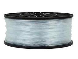 Premium 3D Printer Filament PLA 1.75MM 1kg/spool, Crystal Cl