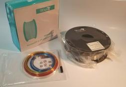 TTYT3D 3D Printer PLA Filament.  Silk Silver color.  1.75mm