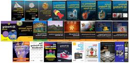 3D Printer/Printing book library collection/bundle  LATEST!!