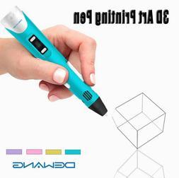 DEWANG 3D Printing Pen 2nd Crafting Doodle Drawing Arts Prin