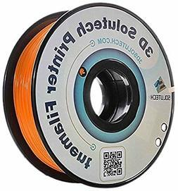 3D Solutech 3DSPLA175ORW Real Orange 3D Printer PLA Filament