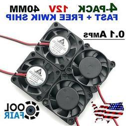 12V 40mm Cooling Computer Case Fan 4010 40x40x10mm DC PC 3D