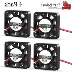 4PCS DC12V Cooling Computer Case Fan 4010 40x40x10mm PC 3D P