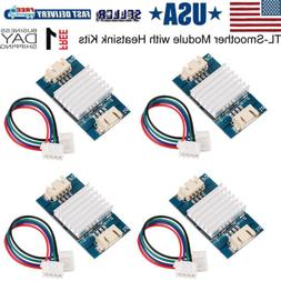 4pcs TL-Smoother Plus Addon Module with 4 Heatsink 3D Printe
