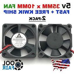 5V 35mm Cooling Case Fan DC 35x35x10mm 3510 PC Computer 3D P
