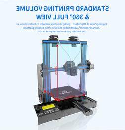 Upgraded Geeetech A10M 3D Printer Mix-Color GT2560 Break Res
