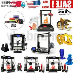 Anet A6 A8 A8 Plus ET4 DIY 3D Printer 220*220*240mm 220*220*