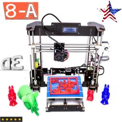 a8 3d printer high precision reprap i3