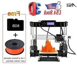Anet A8 High Precision Desktop 3D Printer Support ABS/PLA/HI