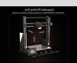 Anet A8 Plus FDM 3D Printer with Large Print Volume - 300x30
