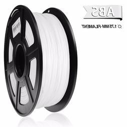 SUNLU ABS 3D Printer Filament 1.75mm 1KG/2.2LB Spool White A