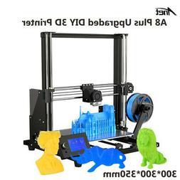 Anet A8 Plus High-precision DIY 3D Printer Kit 300*300*350mm