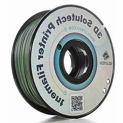 3D Solutech Camo Green 3D Printer PLA Filament 1.75MM Filame