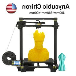 ANYCUBIC Chiron 3D Printer Auto-level Ultrabase Extruder 400