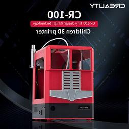 Creality 3D CR-100 Desktop 3D Printer 100*100*80mm Print Siz