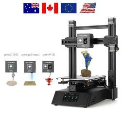 Creality3D CP-01 3 in 1 High Precision Modular 3D Printer+La