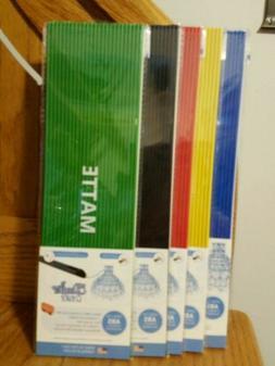 3Doodler Create ABS Plastic Matte Mix Bundle, 5 Packs Filame