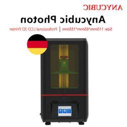 EU ANYCUBIC SLA LCD Photon UV Resin 3D Printer Fully Assembl