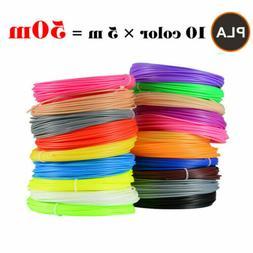 Filament 3D Printer Pen Refill Pack 20 Feet Per Color Gizmo