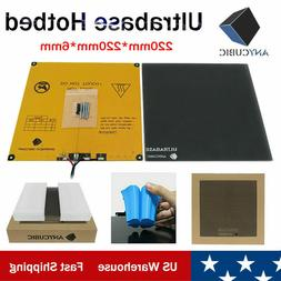 ANYCUBIC I3 MEGA 220x220mm Ultrabase Heatbed 3D Printer Plat