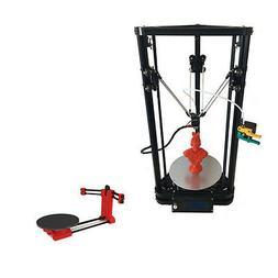 K200 Delta 3D Printer Machine DIY Kit Single Extruder+Heatbe