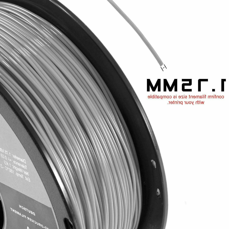 1.75Mm Printer Filament 2.2 Spool