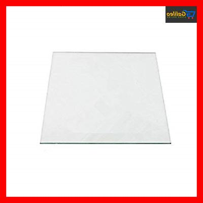 120mm x 120mm x 3mm Borosilicate Glass Plate for Monoprice S