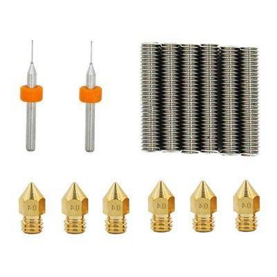 14pcs Extruder Nozzles + A8 3D Printer*