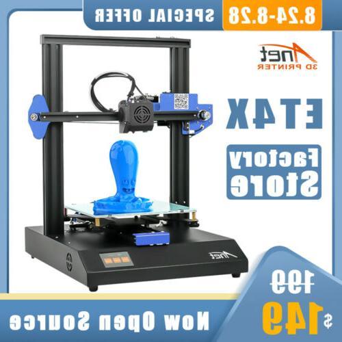 2020 new launched et4x 3d printer metal