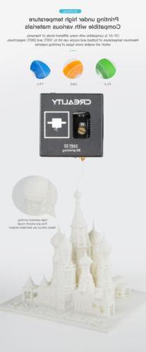 3D Creality Control Panel Printing