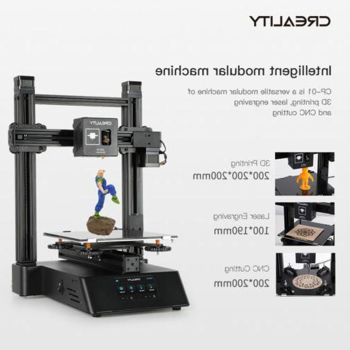 3D Kit DIY Creality Panel 200x200x200mm Printing