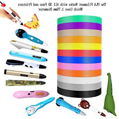 3D Pen 12 196 for 3D 1.75mm PLA