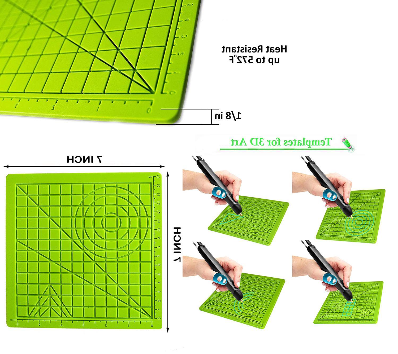 3d pen mat design mat printing pad
