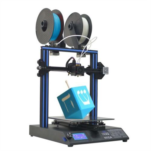 Geeetech 3D Printer 2 in 1 out Extruder Mix-Color A20M Break