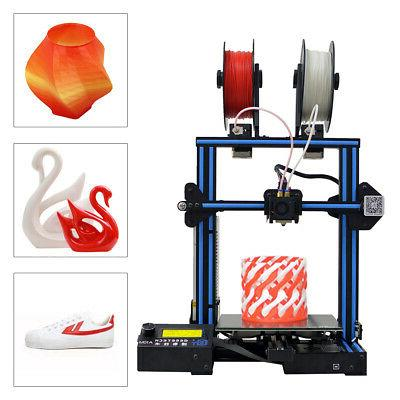 Geeetech 2 Mixing Colors Printing 2 Extruder A10M 3D Printer