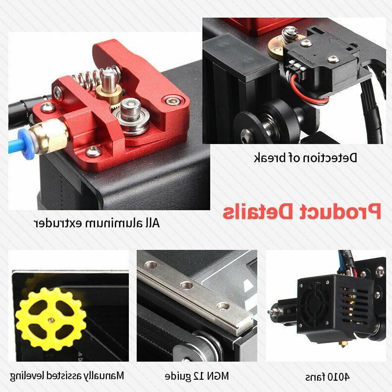 KingRoon KP3 DIY Kit 3D Printing Filament 180*180*180mm